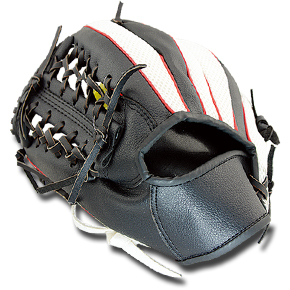 "B2907 12.5"" PVC baseball glove  PVC & PU & Oxford  