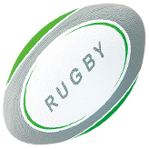 Amercian Football & Rugby Material: Natural rubber, Polyester/Nylon wound